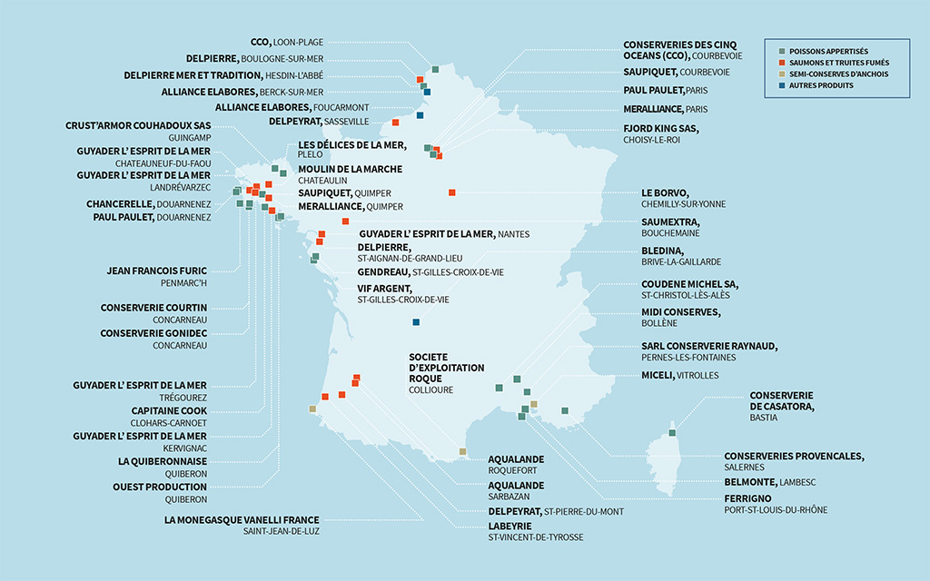 Les adhérents de la CITPPM en France